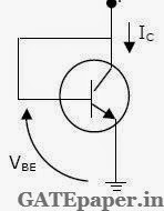 gate 2019 previous solutions video lectures for free august 2014 Common Emitter Amplifier DC and AC Line for a Load for an npn transistor connected as shown in figure vbe 7 volts given that reverse saturation current of the junction at room temperature 300ok is