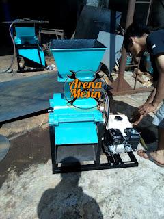 Mesin Pencacah Batang dan Kulit Kedelai