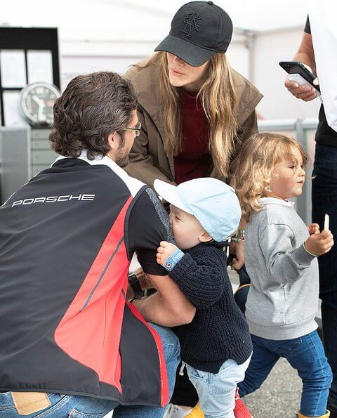 Princess Sofia, Prince Alexander and Prince Gabriel to support Prince Carl Philip