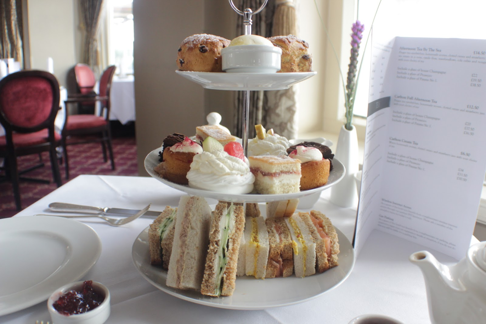 Afternoon tea for 2 deals bournemouth