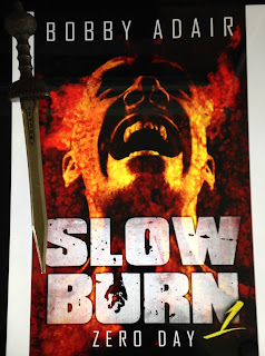 Portada del libro Slow Burn 1: Zero Day, de Bobby Adair