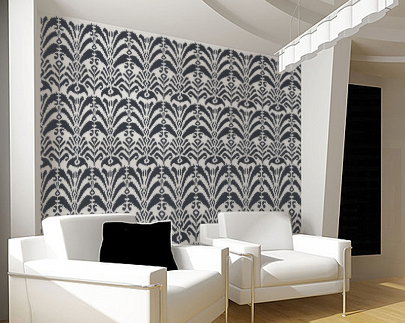 Design Stencils For Walls: Wall Stencil Giveaway From Olive Leaf Stencils