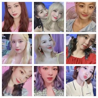 Twice Once Japan Selfies