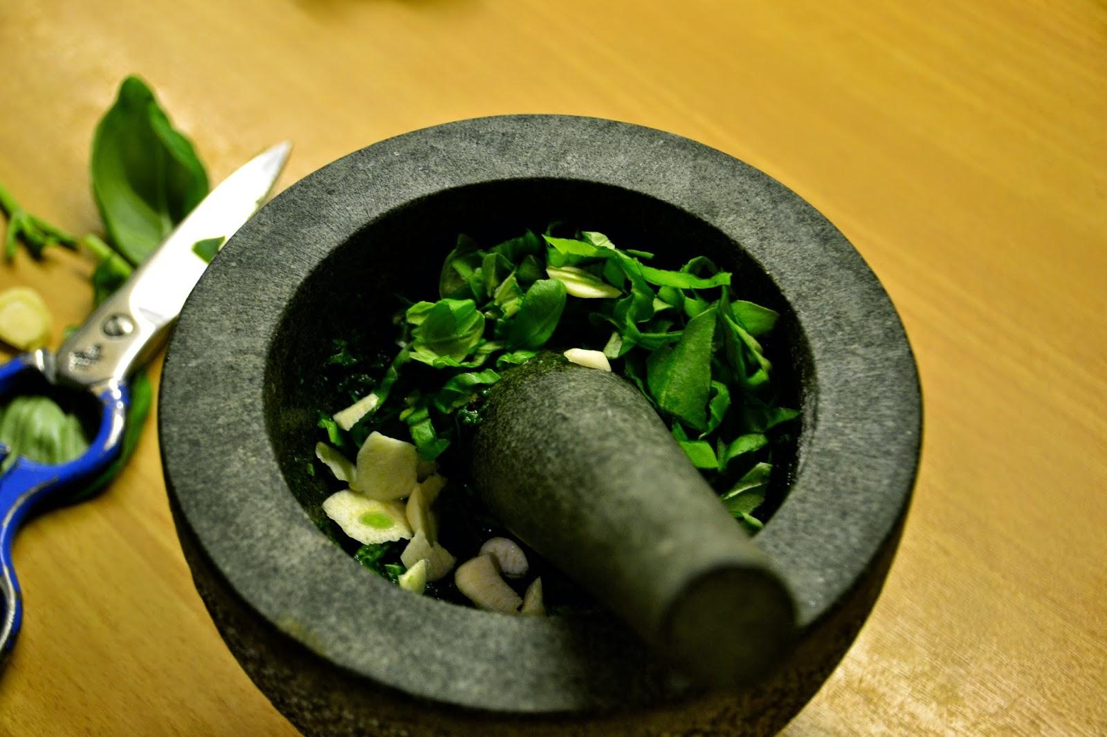 receta para preparar salsa pesto