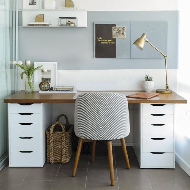 tips membuat ruang kerja menarik di rumah