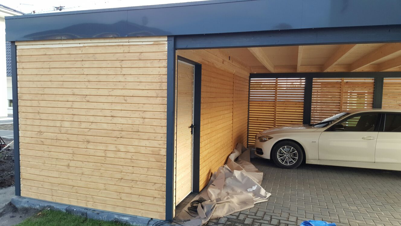 garage mit holz verkleiden garagen in holzst nder. Black Bedroom Furniture Sets. Home Design Ideas