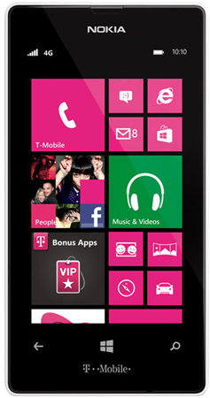 Nokia Lumia 521 for T-Mobile receives GDR2 and Amber software updates