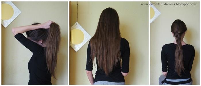 długie brązowe włosy, szatynka