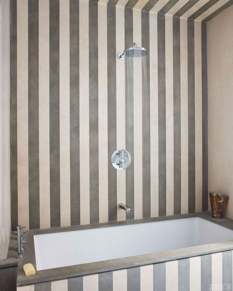 wnętrza w stylu francuskim, piękna łazienka