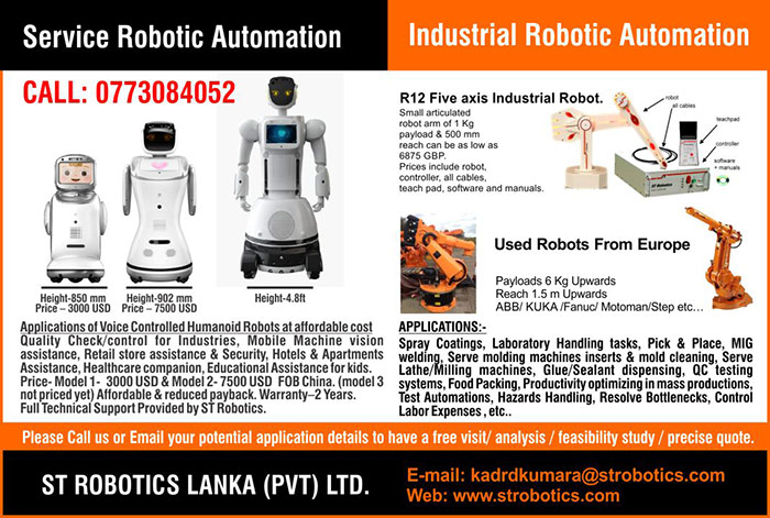 ST Robotics | Robotics For Everyone by Rent basis Humanoids.