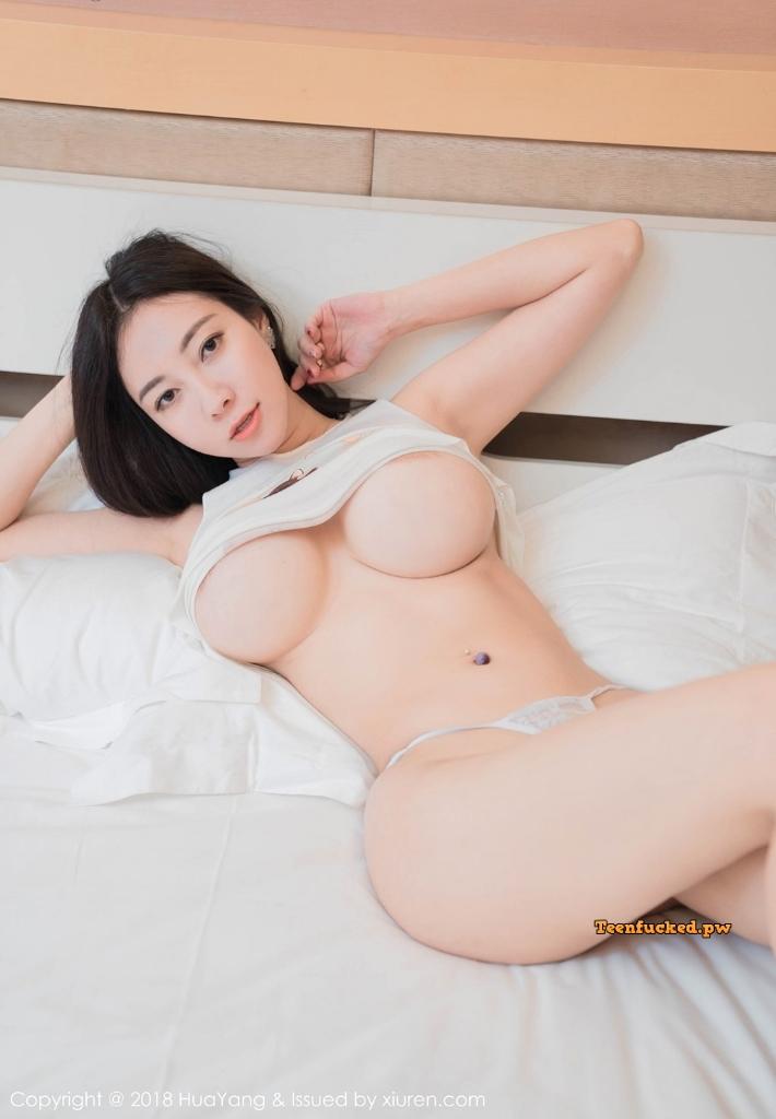 HuaYang 2018 10 23 Vol.090 Victoria Guo Er MrCong.com 014 wm - HuaYang Vol.090: Người mẫu Victoria (果儿) (43 ảnh)