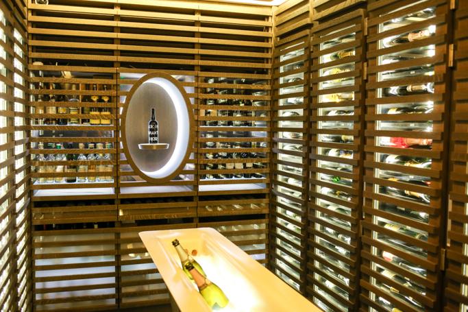 Mandarin Oriental Wine Basement