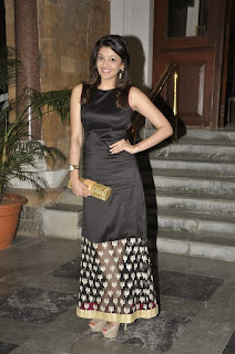Kajal Aggarwal in Spicy Tight Black Sleevelss Full Lenght Dress HQ Pics
