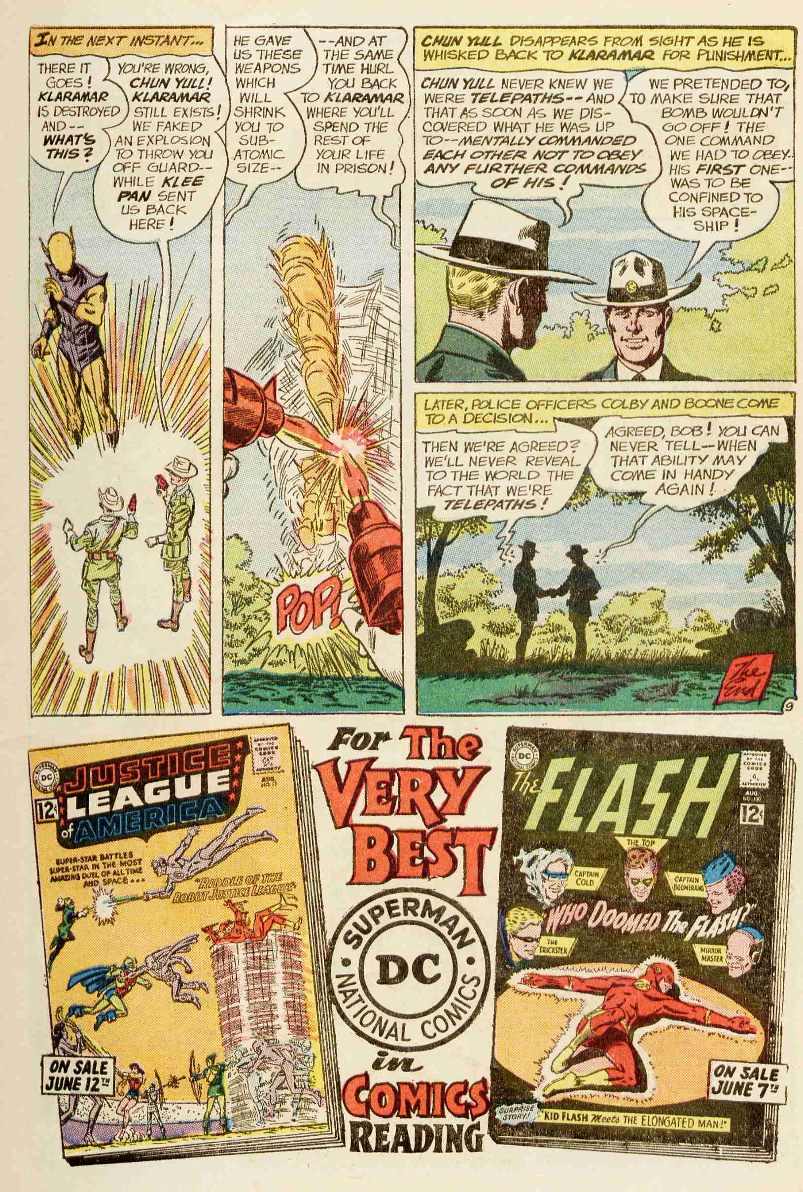 Strange Adventures (1950) issue 142 - Page 11