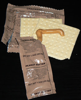 MRE  Menu 14, crackers