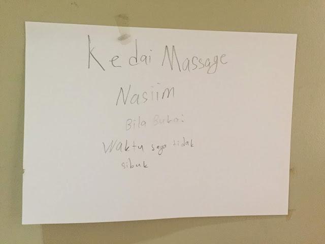 Kedai Massage Nasiim