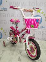 Sepeda Anak Perempuan United Pretty Girl Rangka Aloi 12 Inci