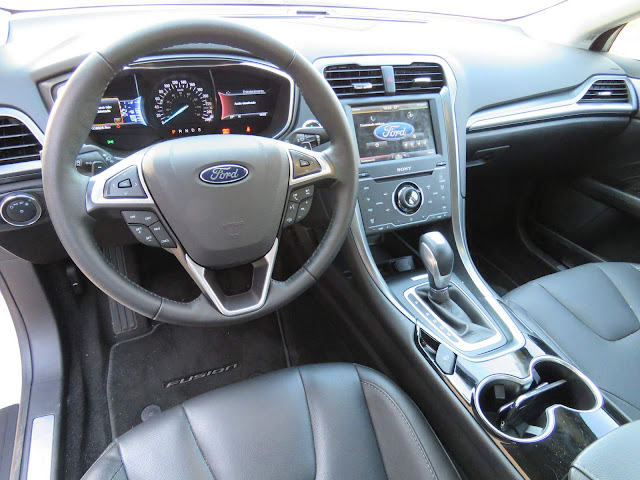 Ford Fusion 2016 Titanium Branco Pérola - painel