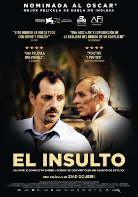 L'insulte 2017 DVD R2 PAL Spanish