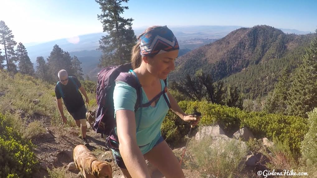 Hiking to Signal Peak, Pine Valley Mountains - Girl on a Hike