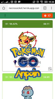 Necrosocket Pokemon Go, Cara Mudah Menggunakan Bot Auto Snipe Pokemon Go di Android, Cara Menggunakan Necrosocket, Cara Auto Snipe Menggunakan Necrosocket Pokemon Go di Android.