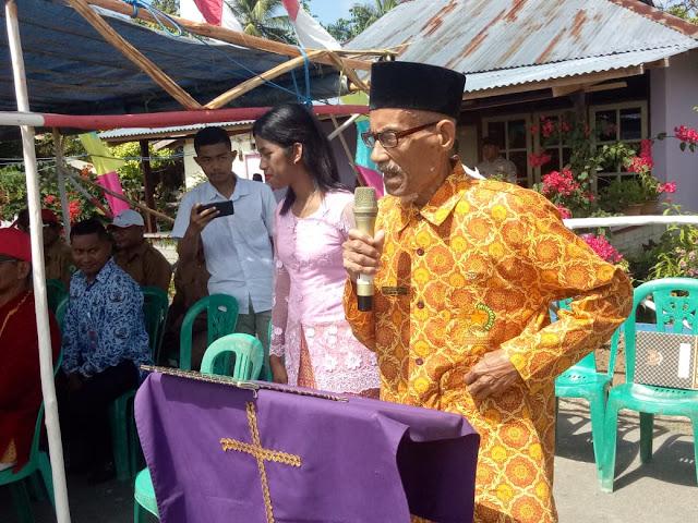 Camat Dan Masyarakat Kecamatan Kei Kecil Timur Selatan Peringati Hut Proklamasi Kemerdekaan RI Ke 73 Tahun 2018