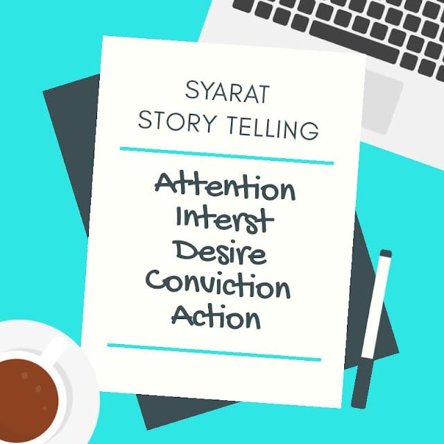 100 orang blogger belajar story telling
