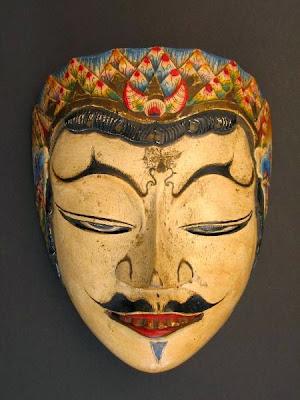 Gambar Topeng Tradisional Jawa Tengah Seni Budaya Indonesia