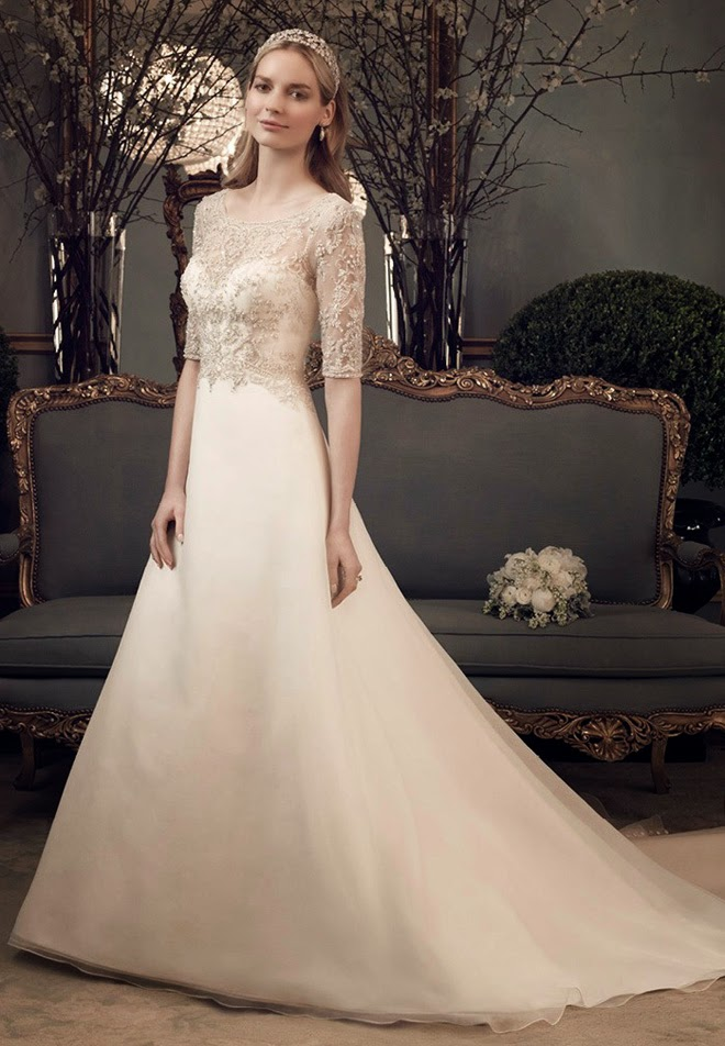 Casablanca Wedding Gown 3 Simple inRead invented by Teads