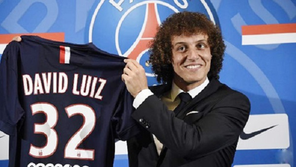 Luiz đang thi đấu cho câu lạc bộ PSG với giá trị 50 triệu euro