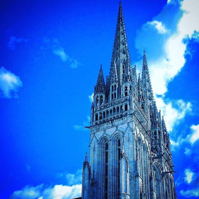 Saint Corentin Cathedral in Quimper
