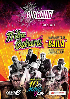 BIG BANG PRESENTA: TRIBU BAHARU EN CONCIERTO