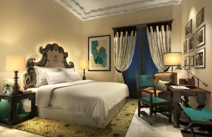 Habitación de estilo andaluz hotel 5 estrellas de lujo Sevilla