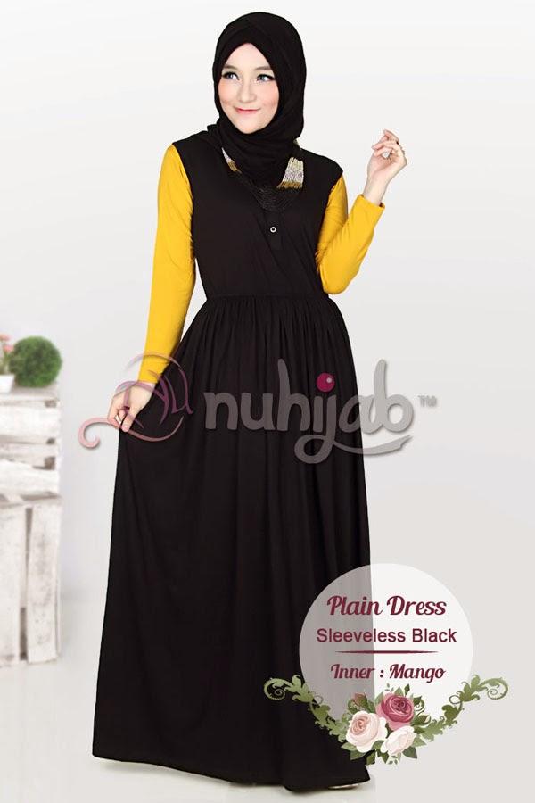 Gamis Tanpa Lengan Nuspd Sleeveless Nuhijab Hijab Online Shop