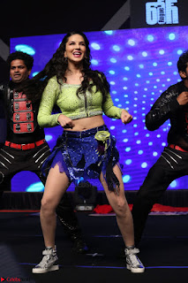 Sunny Leone Dancing on stage At Rogue Movie Audio Music Launch ~  276.JPG