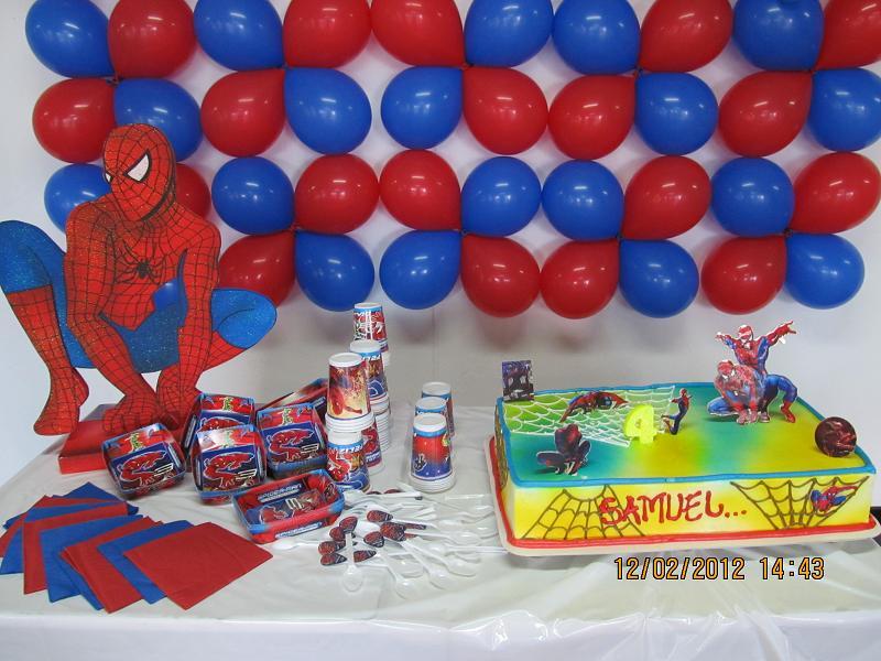 Decoracion Con Globos Spiderman Revoltosos Recreaciones