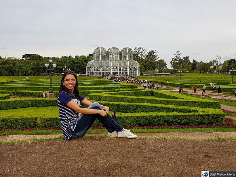 Jardim Botânico de Curitiba - uma das paradas do ônibus Turístico de Curitiba: como funciona a Linha Turismo