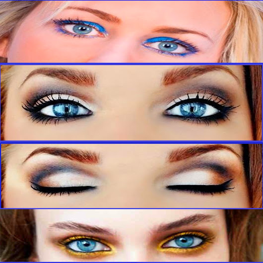 Kinds of makeup for blue eyes ~ Makeup For Blue Eyes