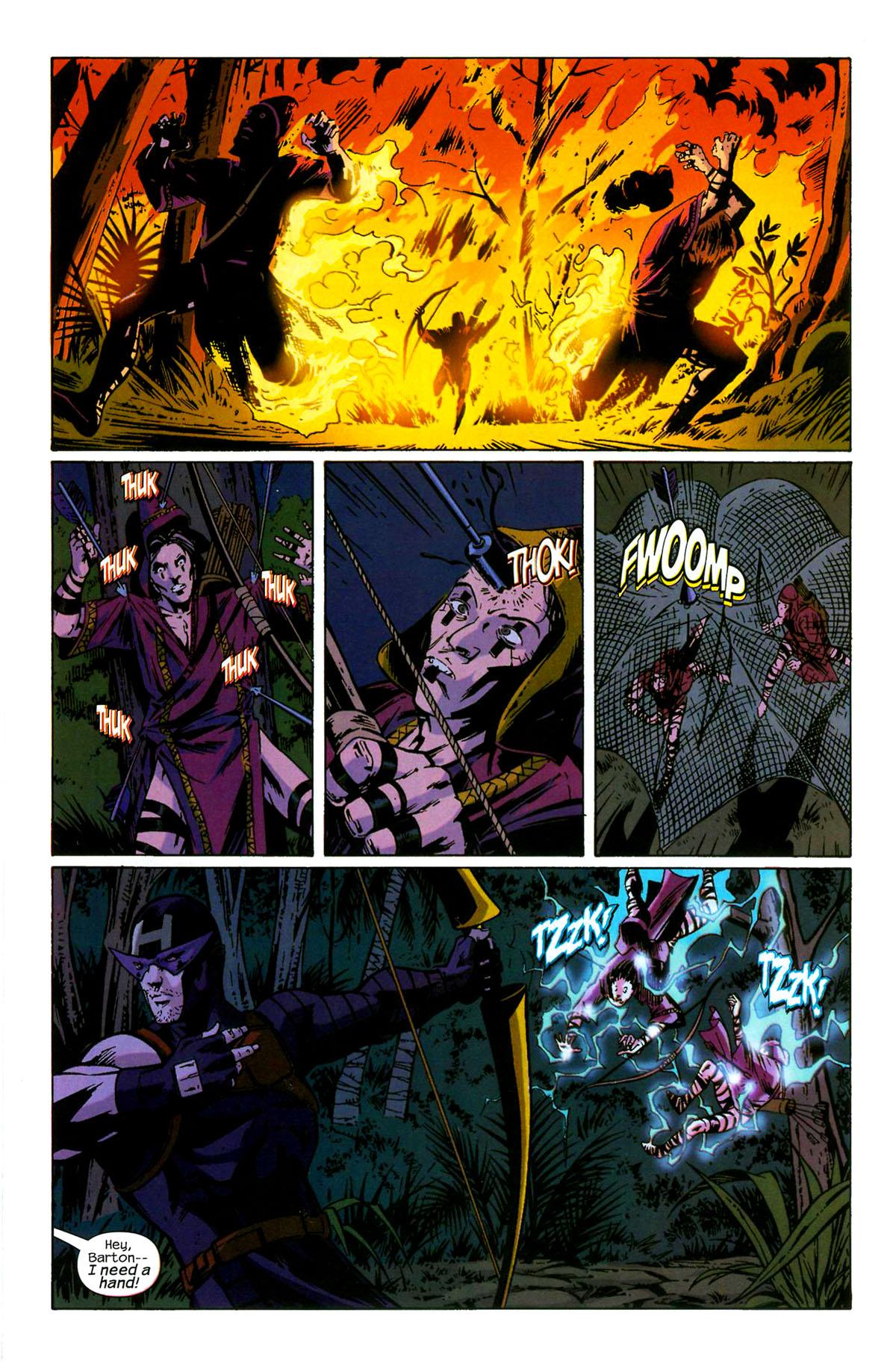 Hawkeye (2003) Issue #6 #6 - English 9