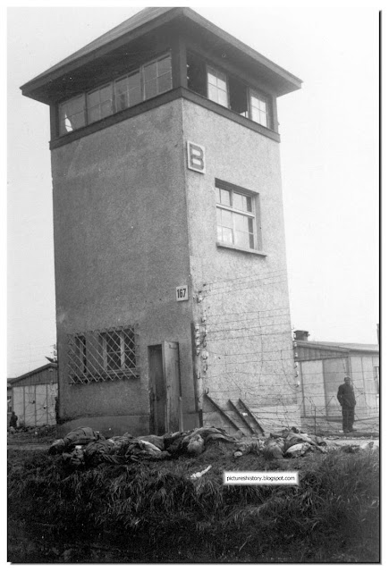 six slain ss guards tower