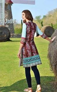 Sanam Chottani Tunic Collection by Shariq Textile'16