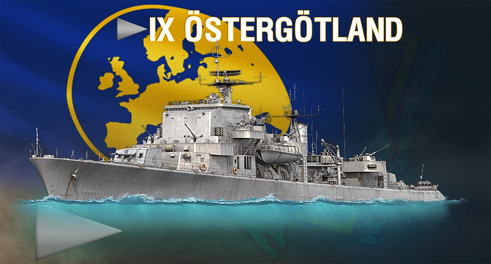 Ostergotland European Tier Ix Destroyer Detailed Stats