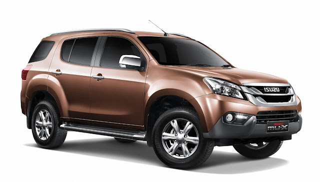 New 2018 Isuzu MU-X Facelift version image