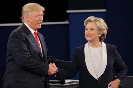 Trump le recuerda a Cinton los escándalos sexuales de su marido