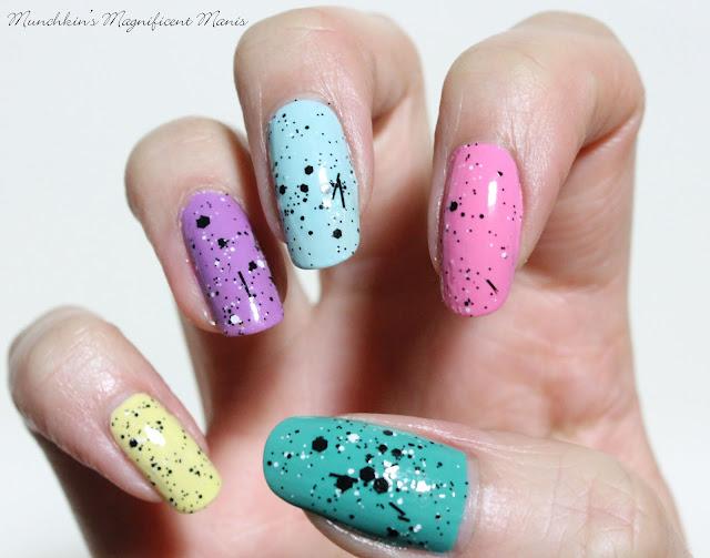 Speckled Egg Nails