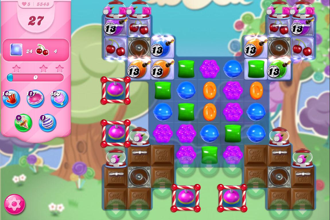 Candy Crush Saga level 5548