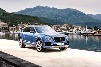 12 παγκόσμια βραβεία για την Bentayga της Bentley