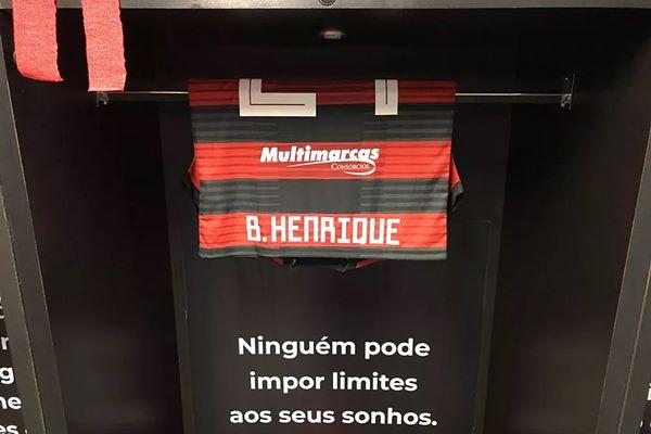 Veja As Frases Estampadas No Vestiário Do Flamengo No