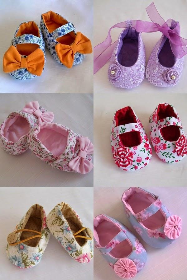 Sapatinhos de Pano para Bebês