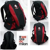 Tas Ransel Distro Bola AC Milan